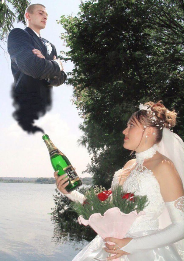 20+ Funny & Weird Russian Wedding Photos | Great Inspire