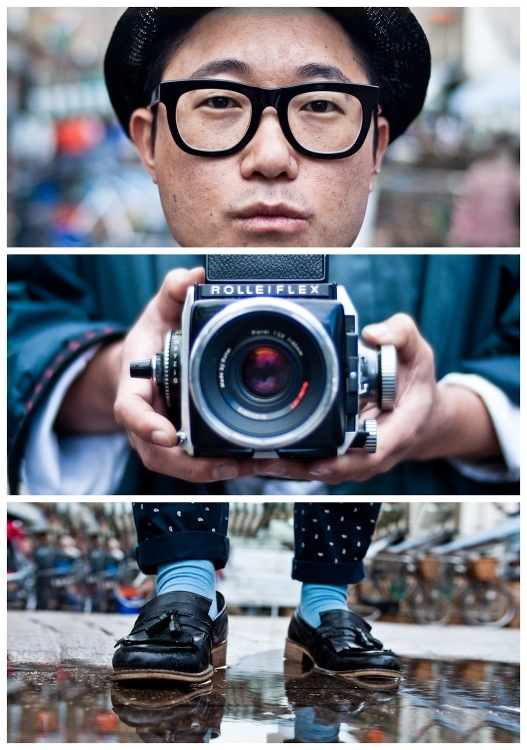 Collections of triptych photography