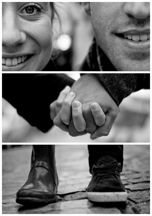 Collections of triptych photography -The Couple - Sacré-Cœur