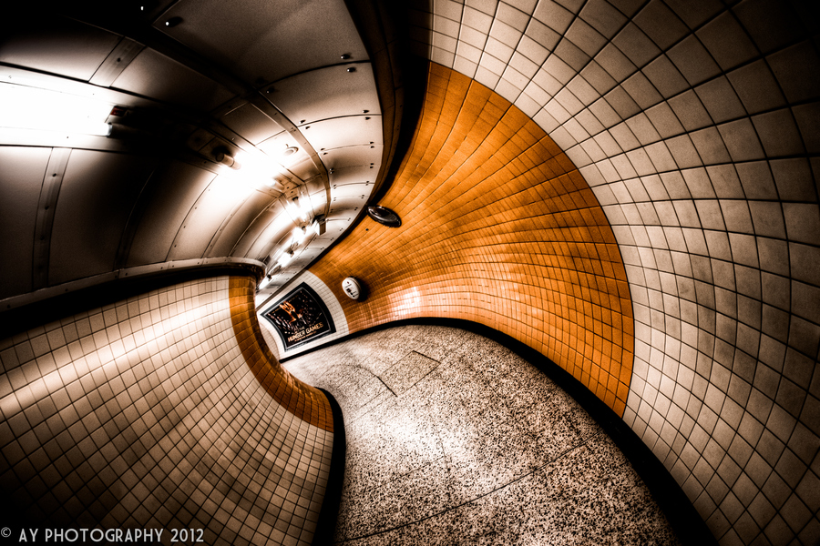 Green Park Underground Station - London - England by Aaron Yeoman