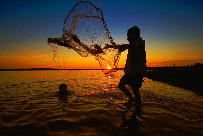 Happiness of children by sarawut Intarob