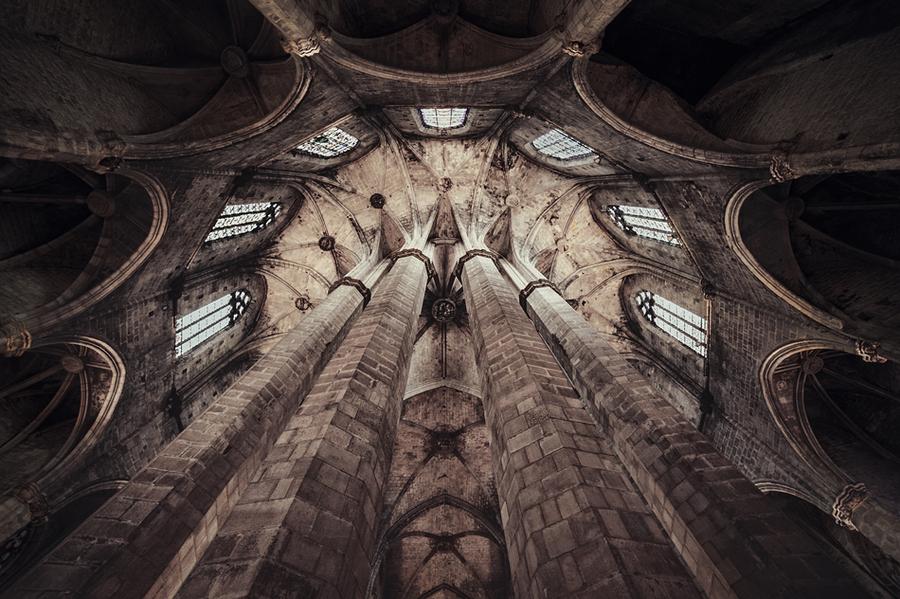 The saint church - barcelona - spain by Martin Marcisovsky