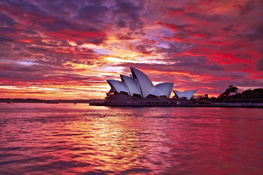 sydney opera house - australia - by Stanley Kozak