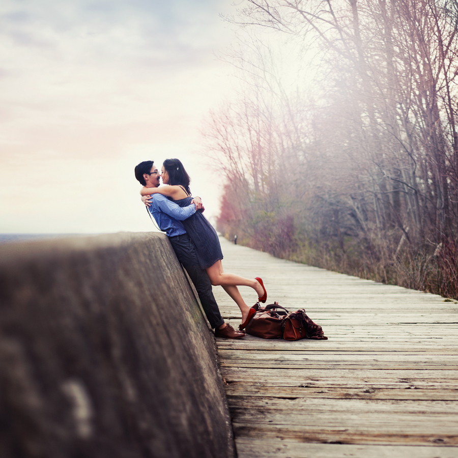 Love on the boardwalk by Vanessa Paxton