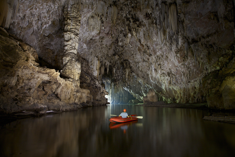 Cave kayaking by john spies - Pang Mapha district of Mae Hong Son Province, Thailand