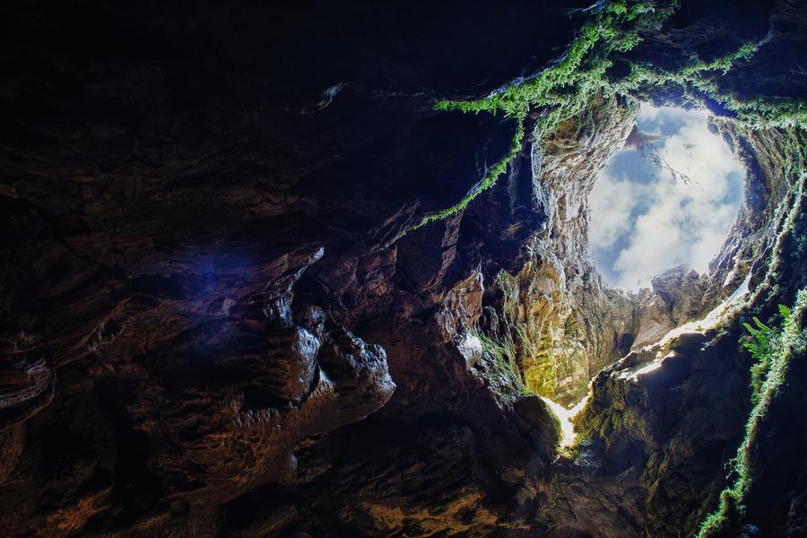 The cave is Fairy Tale by Valery Mikhailenko - Crimea - Karabi plateau