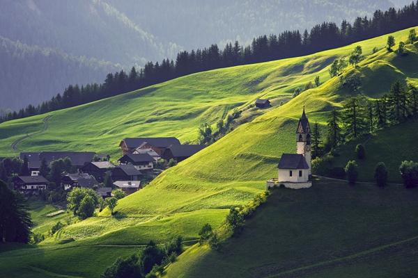 La Valle Wengen 2 by Daniel Řeřicha