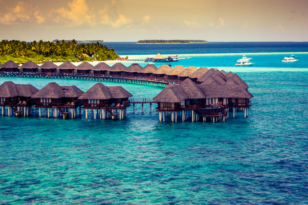 Water Villas  by Munah Ahmed