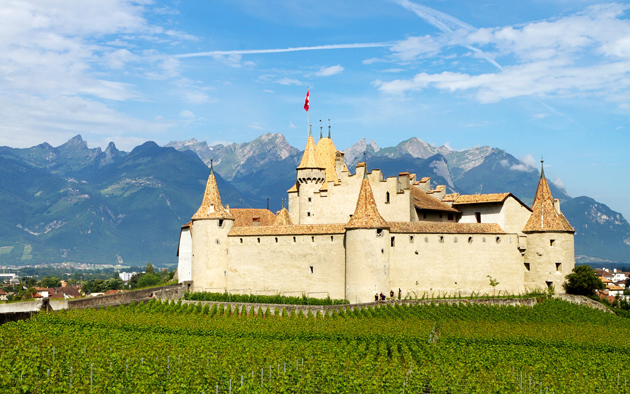 Aigle-Castle-Switzerland