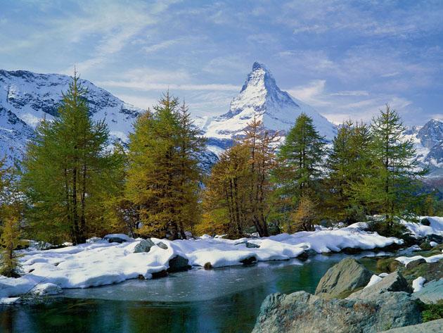 Matterhorn-Valais-Switzerland