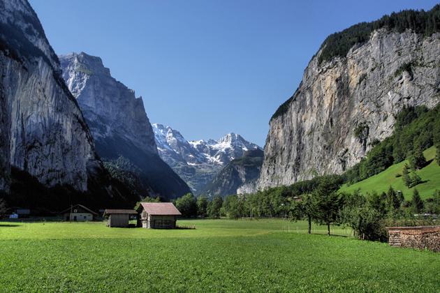 landscape switzerland