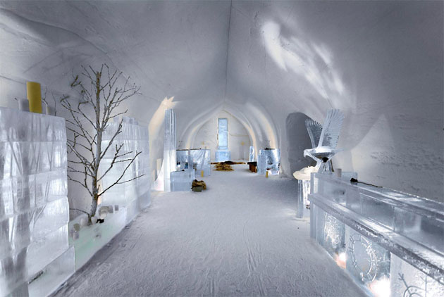 Ice Hotel Lobby Finland