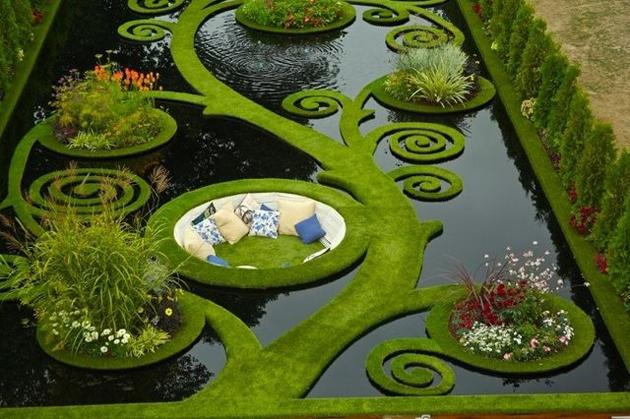 sunken-alcove-garden-in-New-Zealand