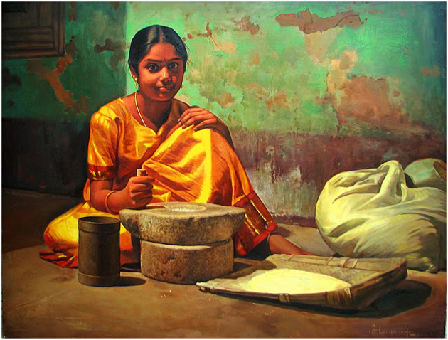 Amazing Oil Painting by South Indian Legend Ilaiyaraaja (7)