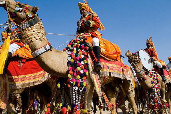 Desert Festival of Jaisalmer, India