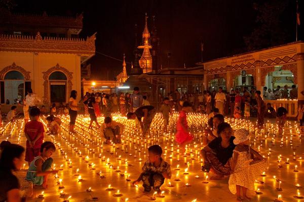 Festival of Lights, Burma