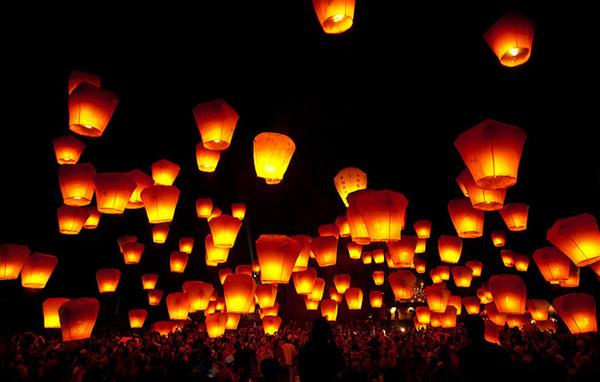 Pingxi Lantern Festival, Taiwan