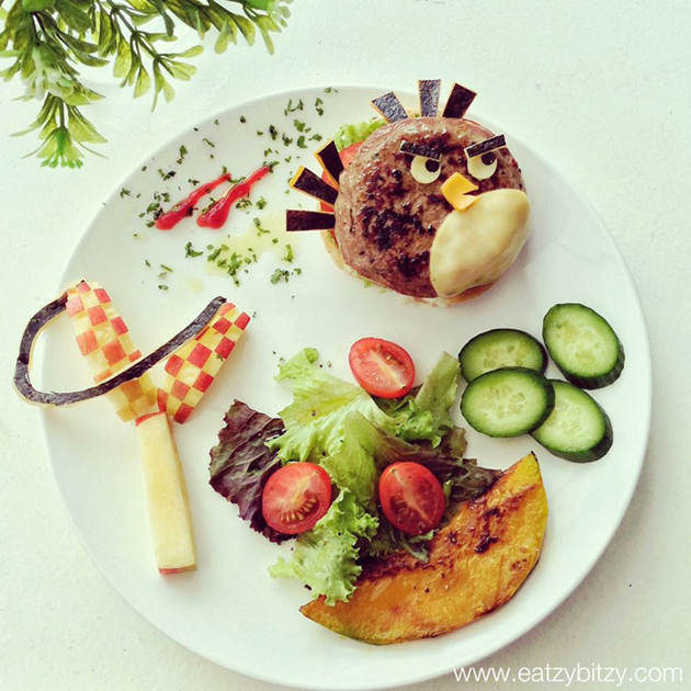 Creative mom turns meals into masterpieces