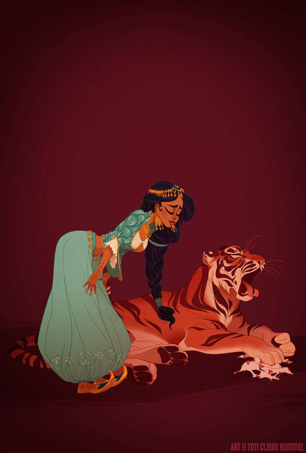 Beautiful Disney Princess by Claire Hummel (1)