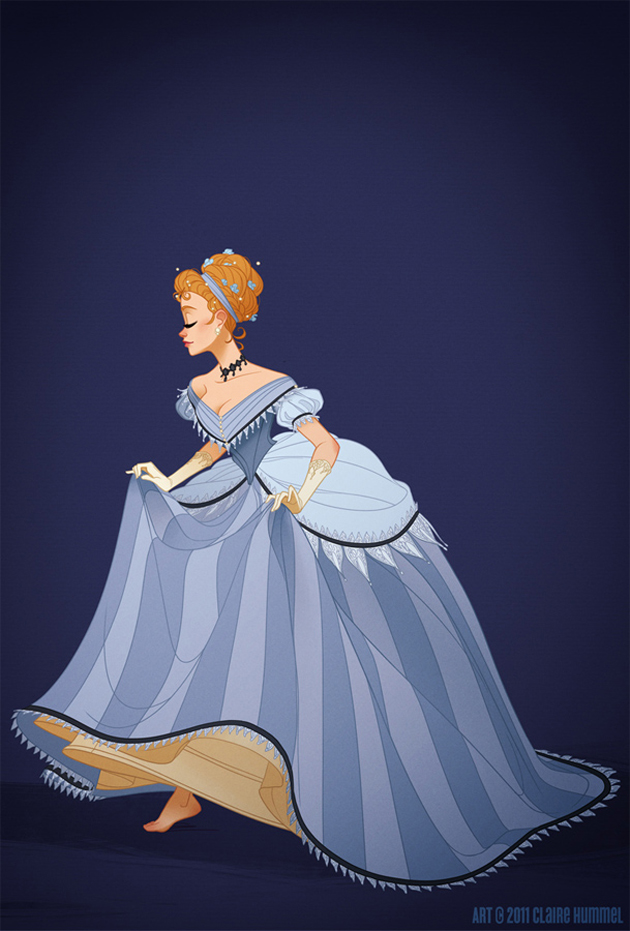 Beautiful Disney Princess by Claire Hummel (2)