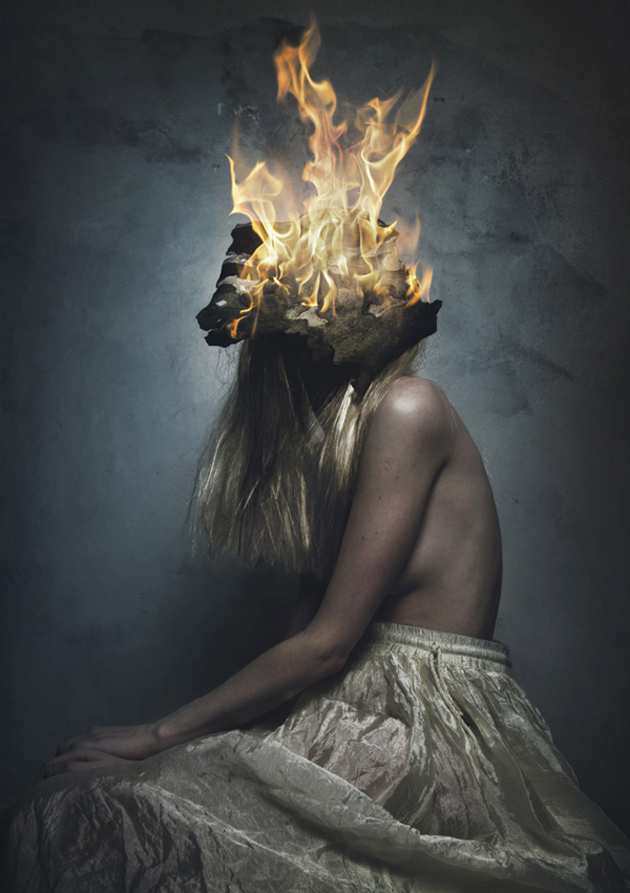 Surreal Self Portraits By Flora Borsi Great Inspire