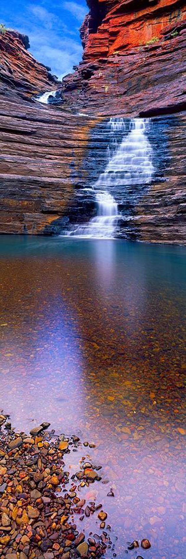 Joffrey Gorge, Karijini National Park, Australia by Christian Fletcher