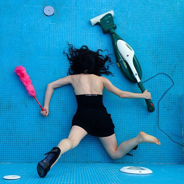 Hilarious Photo Series - Funny Photos of People Posing As If They Have Just Fallen Down (15)