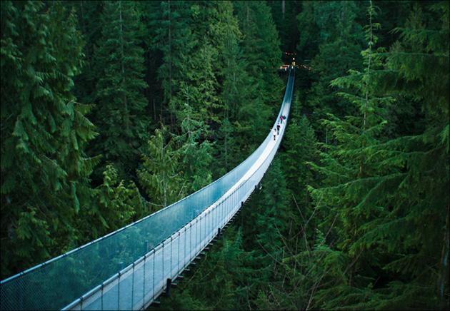 Capilano Suspension Bridge, Vancouver, BC, Canada