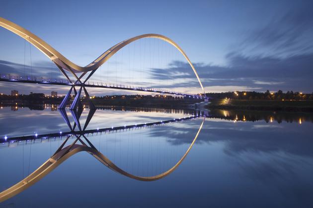 Infinity Bridge, Stockton-on-Tees, United Kingdom