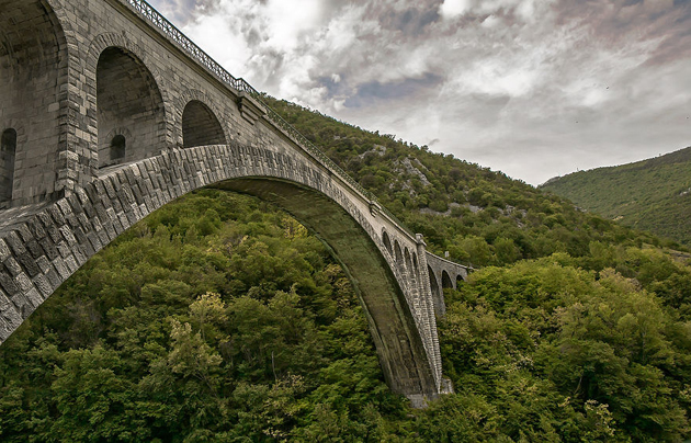 Solkan Bridge-Slovenia