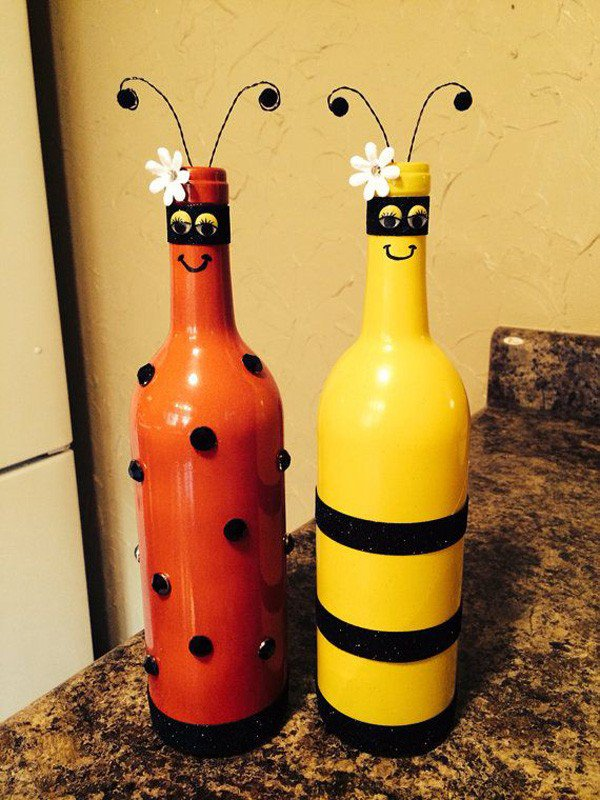 35-DIY Gorgeous Glass Bottles (19)