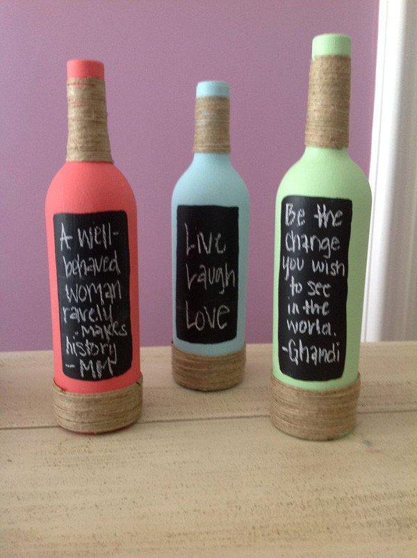 35-DIY Gorgeous Glass Bottles (20)