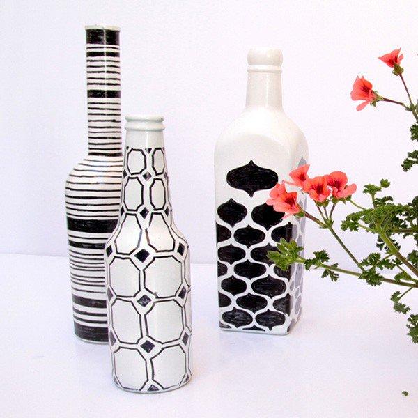 35-DIY Gorgeous Glass Bottles (9)