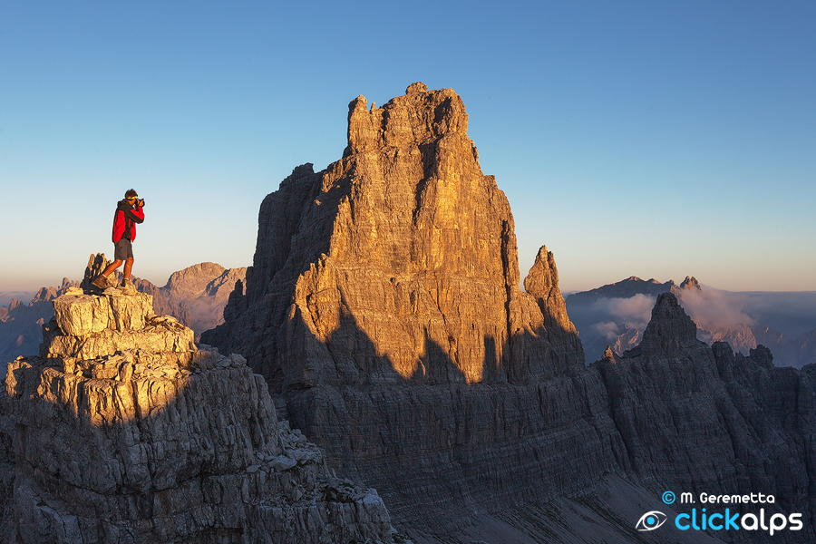 A little man for a great mountain by Moreno Geremetta on 500px
