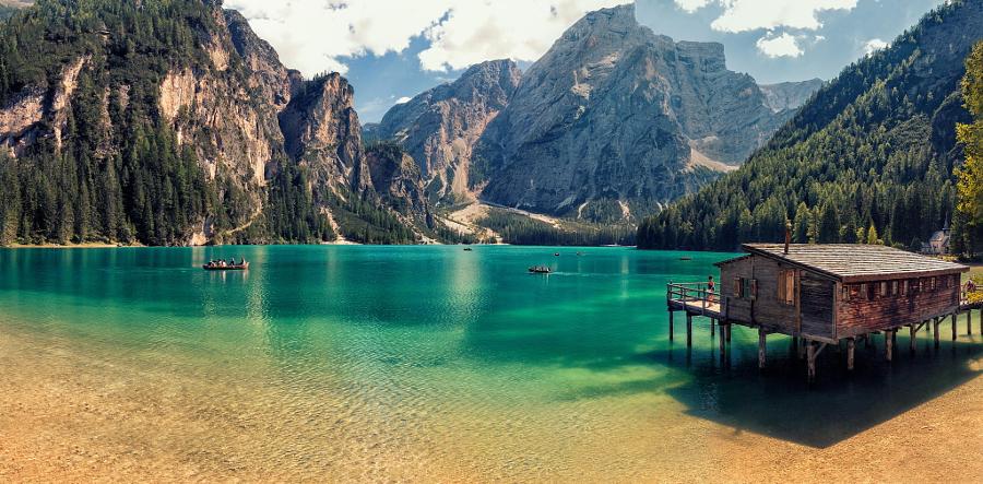 Braies Lake by Giorgio Galano on 500px