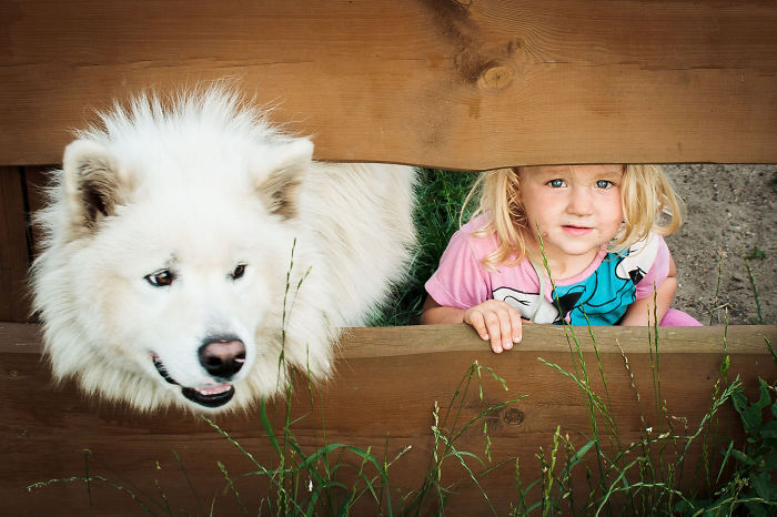 Adorable Photos kids with dog (1)