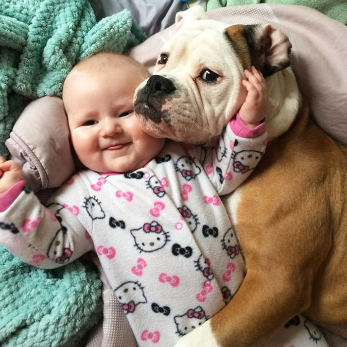 Adorable Photos kids with dog (15)