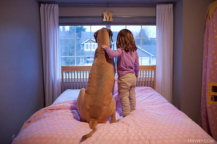 Adorable Photos kids with dog (25)