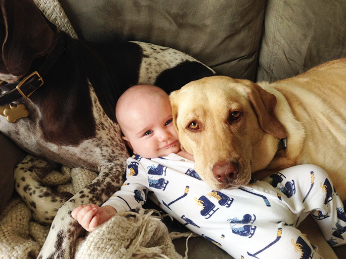 Adorable Photos kids with dog (8)