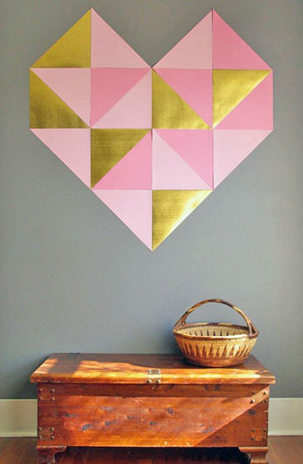 Creative ideas of DIY heart Shapes (30)