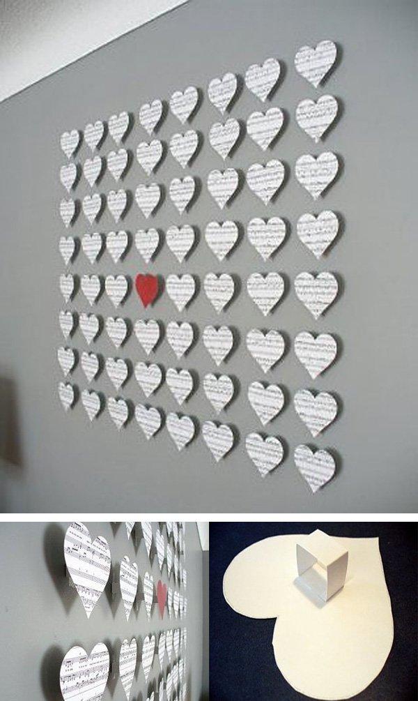 Creative ideas of DIY heart Shapes (31)