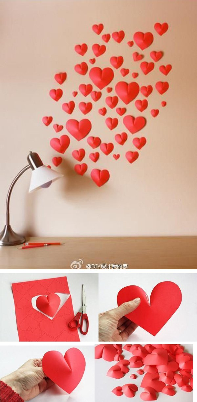 Creative ideas of DIY heart Shapes (32)