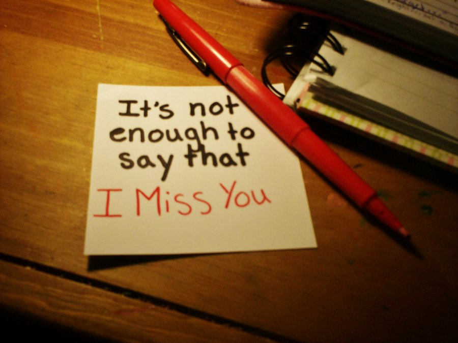 Let them know that you miss them (10)