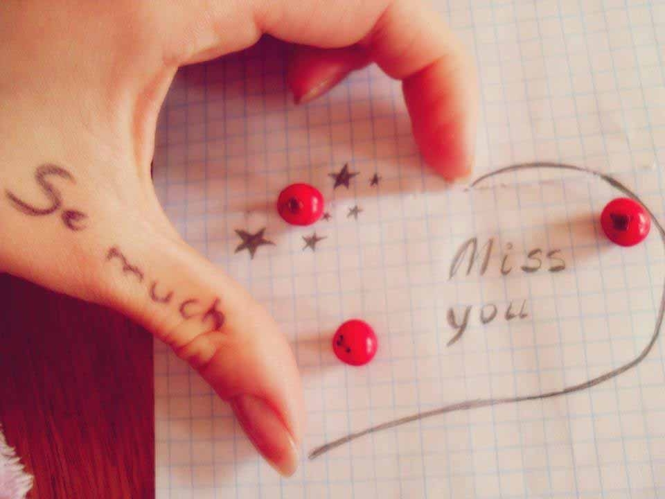 Let them know that you miss them (8)