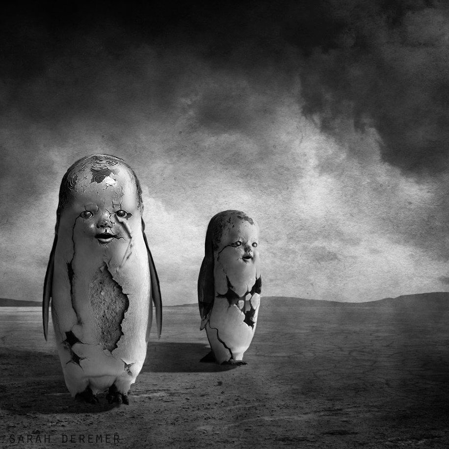 Surreal black white photography by sarah deremer great inspire