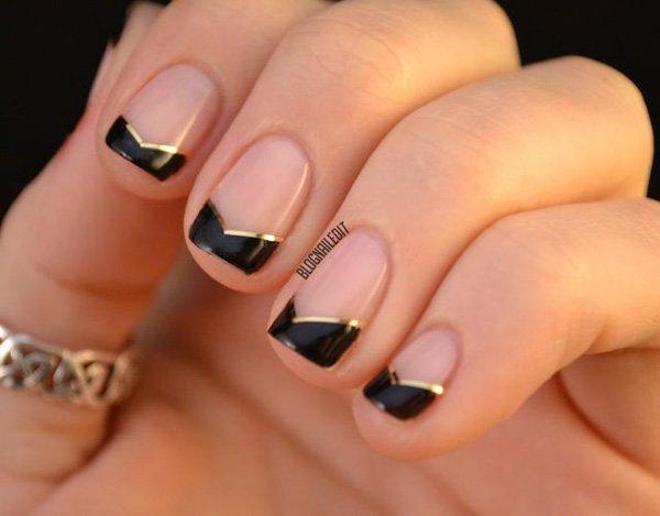 Lovely Metallic Nail Polish Ideas (1)