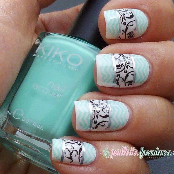 Lovely Metallic Nail Polish Ideas (12)