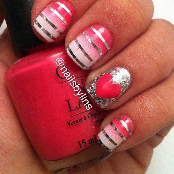 Lovely Metallic Nail Polish Ideas (14)