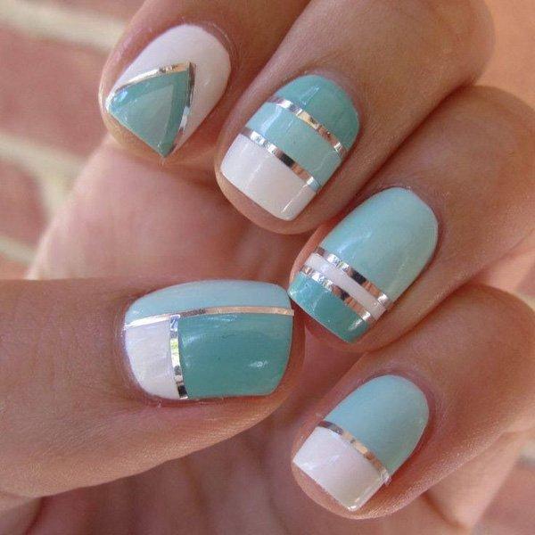 Lovely Metallic Nail Polish Ideas (19)