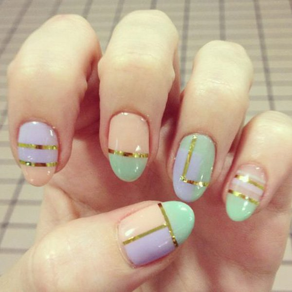 Lovely Metallic Nail Polish Ideas (22)